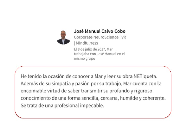 José Manuel Calvo Cobo (Corporate NeuroScience)